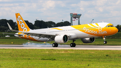 D-AZAX - Airbus A321-251NX - Scoot