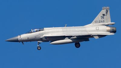 17-240 - Chengdu JF-17 Thunder - Pakistan - Air Force
