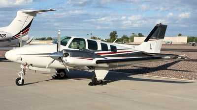 A picture of N22TY - Beech 58 Baron - [TH1826] - © Cam