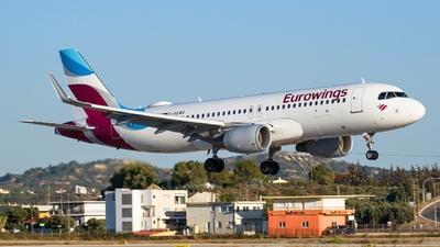 D-AEWO - Airbus A320-214 - Eurowings