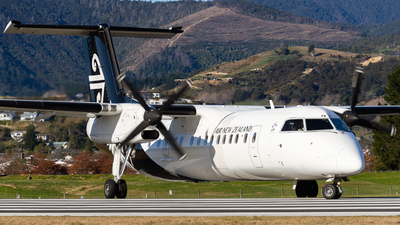 A picture of ZKNFA - De Havilland Canada Dash 8300 - Air New Zealand - © Cody Forward