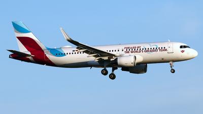 A picture of DAIZS - Airbus A320214 - Eurowings - © Javier Rodriguez - Amics de Son Sant Joan