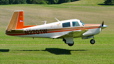 A picture of N2701W - Mooney M20E - [1016] - © DJ Reed - OPShots Photo Team
