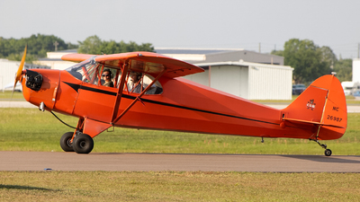 N26987 - Piper J-5A Cub Cruiser - Private
