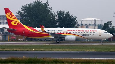 B-5522 - Boeing 737-84P - Hainan Airlines