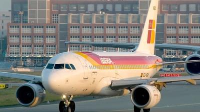 EC-KBX - Airbus A319-111 - Iberia