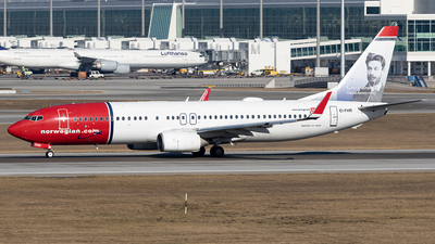 EI-FHR - Boeing 737-8JP - Norwegian