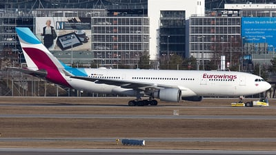 D-AXGD - Airbus A330-203 - Eurowings