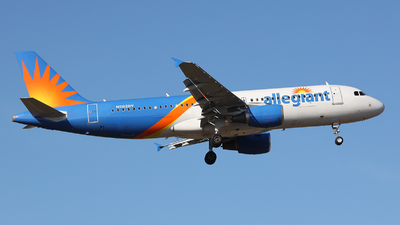 N282NV - Airbus A320-214 - Allegiant Air