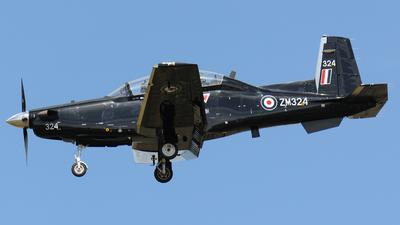 ZM324 - Raytheon T-6C Texan T1 - United Kingdom - Royal Air Force (RAF)