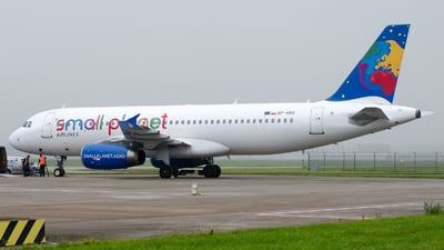 SP-HAG - Airbus A320-232 - Small Planet Airlines Polska