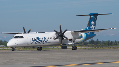N439QX - Bombardier Dash 8-Q402 - Alaska Airlines (Horizon Air)