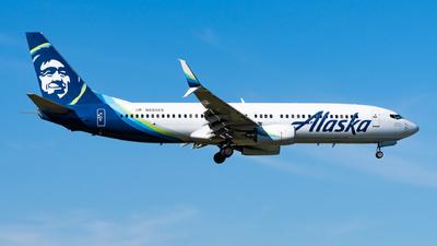 N593AS - Boeing 737-890 - Alaska Airlines