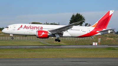 N784AV - Boeing 787-8 Dreamliner - Avianca