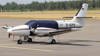 D-IGPS - Cessna T303 Crusader - Terra Bildmessflug