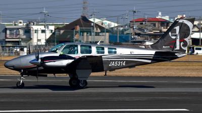 JA5314 - Beechcraft 58 Baron - Private
