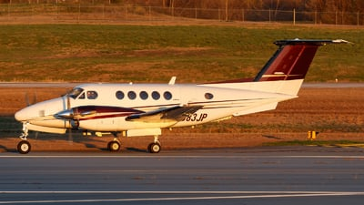 N383JP - Beechcraft 200 Super King Air - Atlanta Air Charter