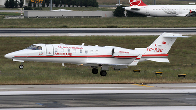 TC-RSD - Bombardier Learjet 45 - Turkey - Ministry of Health