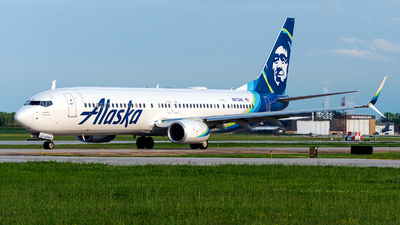 N273AK - Boeing 737-990ER - Alaska Airlines