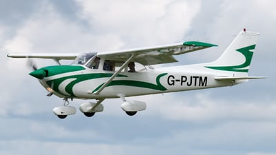 G-PJTM - Reims-Cessna FR172K Hawk XP II - Private