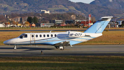 M-CITY - Cessna 525 Citation CJ3 - Private