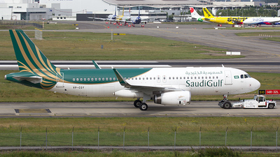 VP-CGY - Airbus A320-232 - SaudiGulf Airlines