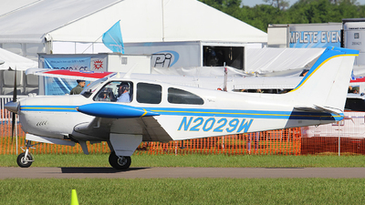 N2029W - Beechcraft C35 Bonanza - Private