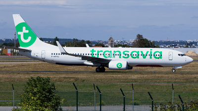 F-HTVJ - Boeing 737-8K2 - Transavia France