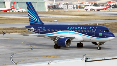 A picture of 4KAZ05 - Airbus A319111 - Azerbaijan Airlines - © Firat Cimenli