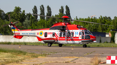 55 - Airbus Helicopters H225M - Ukraine - State Emergency Service
