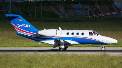 A picture of DIOWA - Cessna 525 CitationJet CJ1+ - [5250624] - © Jeremy Denton