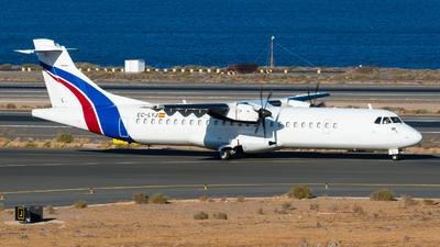 A picture of ECLYJ - ATR 72500 - Swiftair - © Pablo Gonzalez de Leon