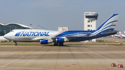 A picture of N952CA - Boeing 747428(BCF) - National Airlines - © Charlie-Aviationphotography