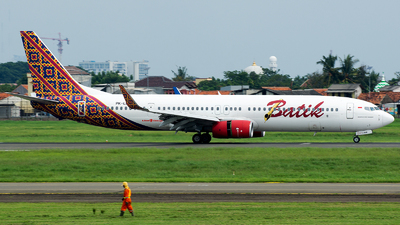 A picture of PKLBM - Boeing 7379GP(ER) - Batik Air - © Ridho Maulana