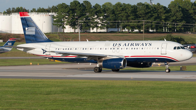 N644AW - Airbus A320-231 - US Airways
