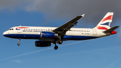 G-EUUO - Airbus A320-232 - British Airways
