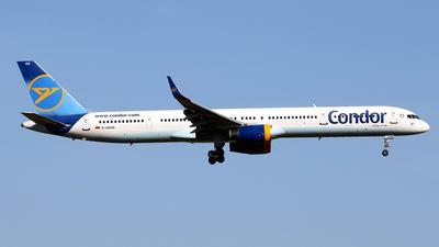 A picture of DABOE - Boeing 757330 - Condor - © Javier Rodriguez - Amics de Son Sant Joan