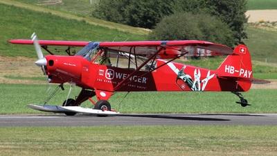 A picture of HBPAY - Piper PA18150 Super Cub - [182548] - © Manueljb
