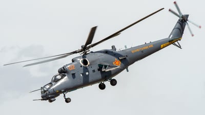 02 - Mil Mi-35M Hind - Kazakhstan - Air Force