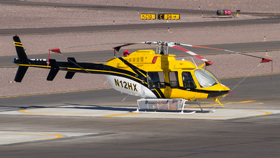 N12HX - Bell 407 - Helicopter Express