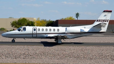 N808QS - Cessna 550 Citation II - NetJets Aviation
