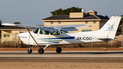 4X-CGO - Cessna 172M Skyhawk - Sky Aviation