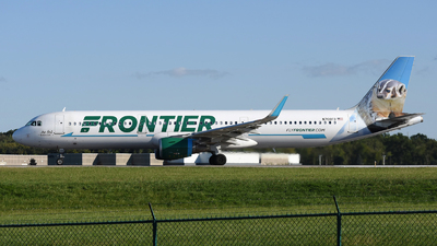 N708FR - Airbus A321-211 - Frontier Airlines