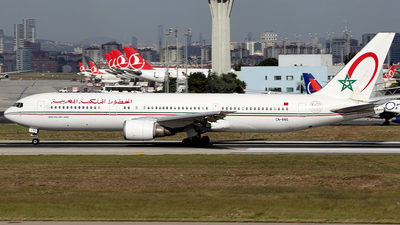 CN-RNS - Boeing 767-36N(ER) - Royal Air Maroc (RAM)