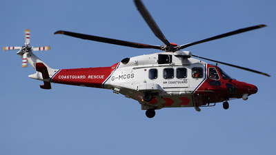 G-MCGS - Agusta-Westland AW-189 - United Kingdom - Coast Guard