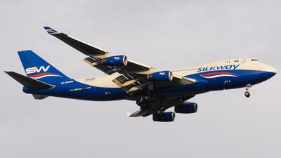 4K-SW888 - Boeing 747-4R7F(SCD) - Silk Way West Airlines