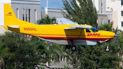 A picture of N960HL - Cessna 208B Super Cargomaster - DHL - © Angel Natal
