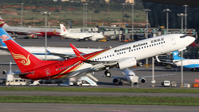 B-1315 - Boeing 737-84P - Kunming Airlines