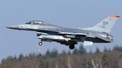 91-0351 - General Dynamics F-16C Fighting Falcon - United States - US Air Force (USAF)