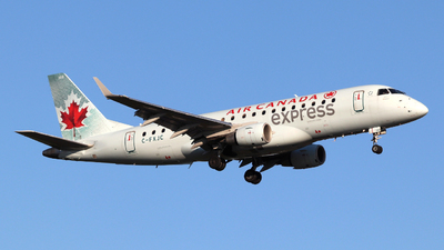 A picture of CFXJC - Embraer E175SU - Air Canada - © Guy Langlois